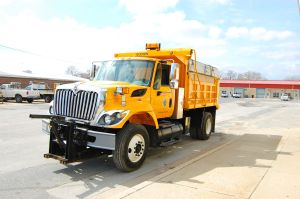 City of Salisbury Public Works Vehicle